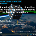 Young Physicist 2019 Prize: Numerical Ray Tracing of Medium and High Frequency Radio Waves in the Terrestrial Ionosphere